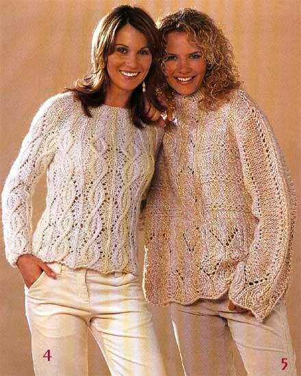 Женские пуловеры.
