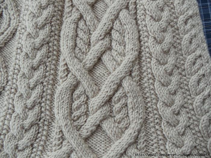 Араны спицами. Схемы вязания с использованием аранов 82