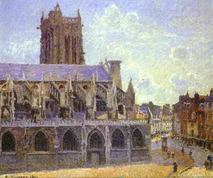 The Church of St. Jacques at Dieppe. 1901. Oil on cnvas. Musée d'Orsay, Paris, France. (696x582, 39Kb)
