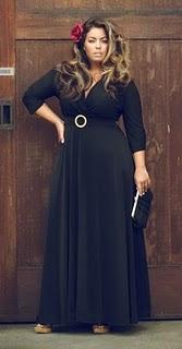 Описание: вечерняя одежда для толстых женщин.