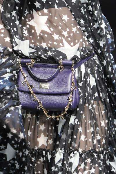 В новой коллекции Dolce&Gabbana дизайнеры играли с принтами: звездами...