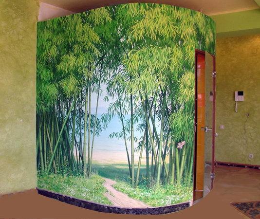 Оформление интерьеров - Роспись стен, потолков.