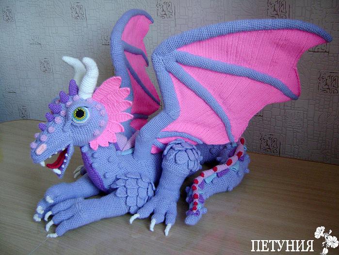 вязаные драконы и поросята записи в рубрике вязаные драконы и