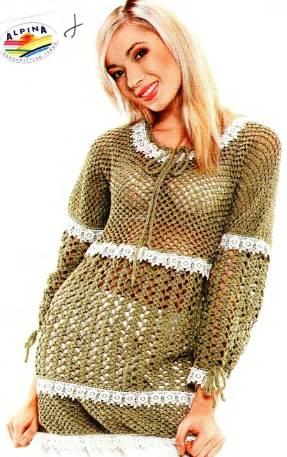 Tanya_Belyakova.  Вязание/платья,туники тёплые.  Это цитата сообщения.