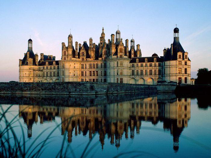 скачать обои Замок Шамбор, Франция.