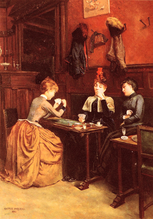 Paqueau-Gaston.Parisiennes-Au-Cafe (492x700, 439Kb)
