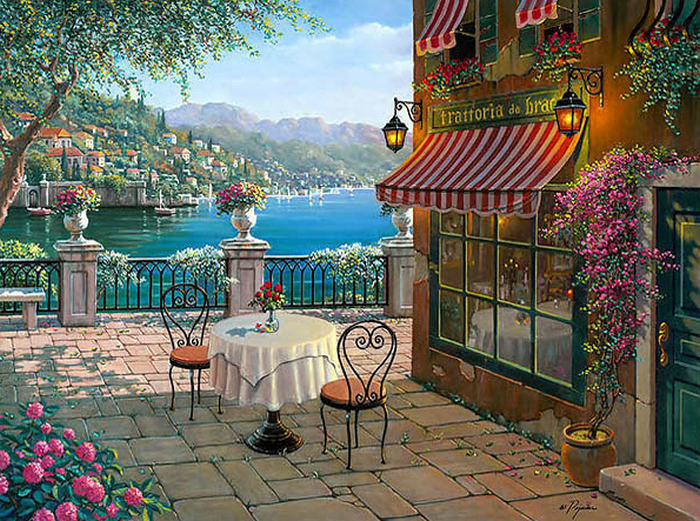 Bellagio Memories  Art of Bob Pejman (700x521, 999Kb)