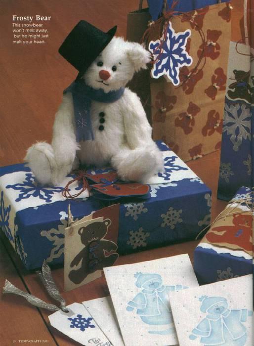Отличный журнал Teddy Craft с выкройками мишек Тедди.
