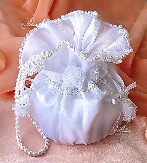 Сумочка невесты своими руками. Мастер-класс Вместе рядом