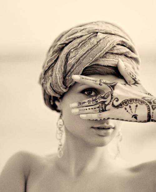 красиво, элегантное, девушка, татуировка, винтаж.