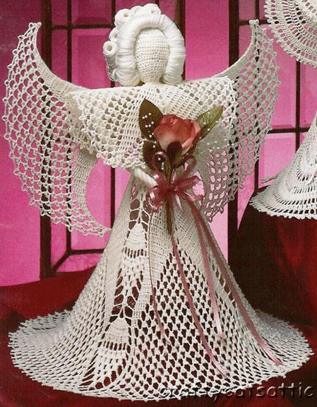 вязаный ангел крючком - Выкройки одежды для детей и взрослых.