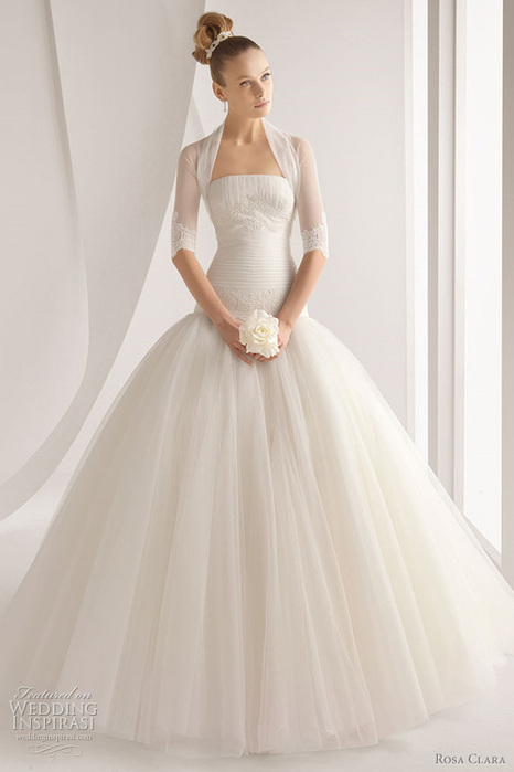 DataLife Engine Версия для печати Свадебные платья 2012 rosa clara.
