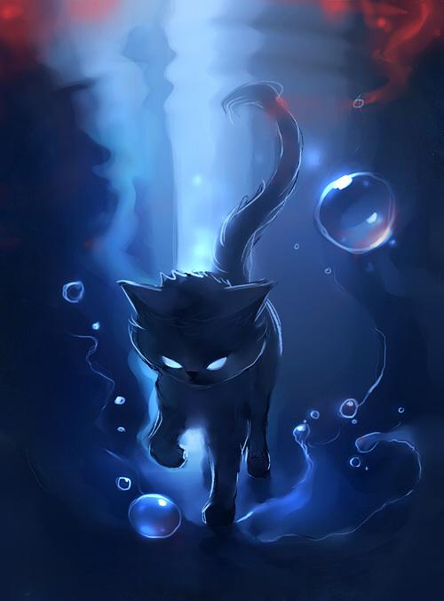 рисунки кошки картинки