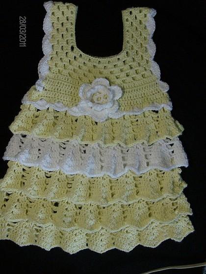 вязаное платье крючком для девочки, вязание из мохера спицами.