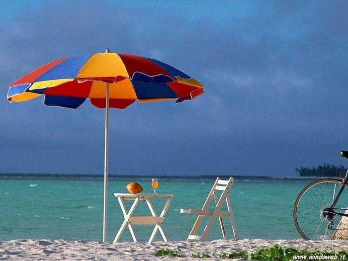 Зонт и солнце картинки