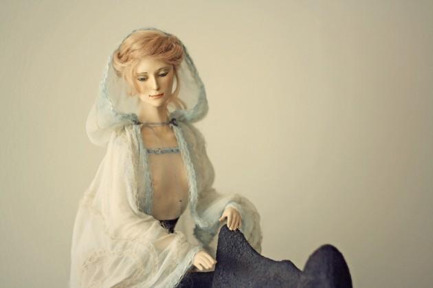 Как связать куклу спицами Своими руками 11