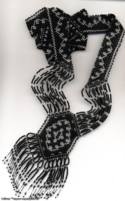 Dec 19, 2013 - Этнические украшения (герданы, гайтаны, лунницы) схемы.  Схема гайтана взята из книги м...
