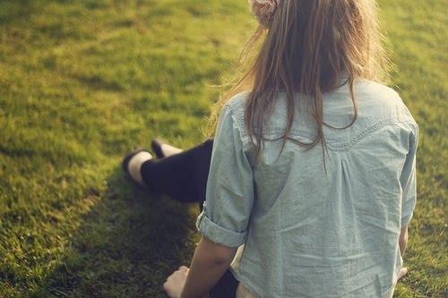 русые девушки со спины фото