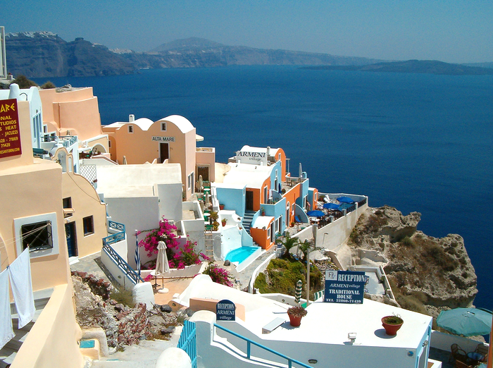 All sizes  Greece- Isle of Santorini (Cyclades) - Oia  Flickr - Photo Sharing! (700x522, 897Kb)