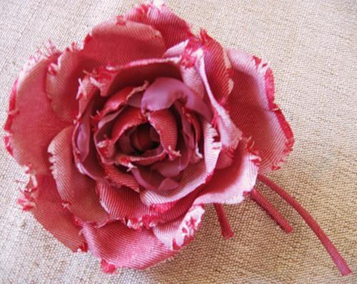 2011-02-18. Джинсовая роза.  1756. Цветочная поляна.  Сообщения.
