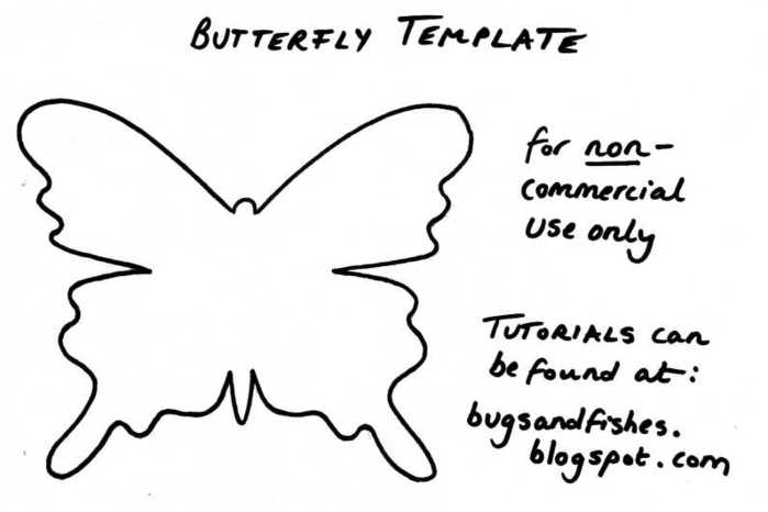 Butterfly Template (700x466, 20Kb)