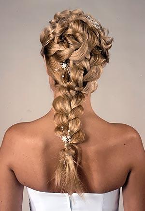 ПЛЕТЕНИЕ КОС - вплетенные в прическу косы в этом, Как плести красивые...