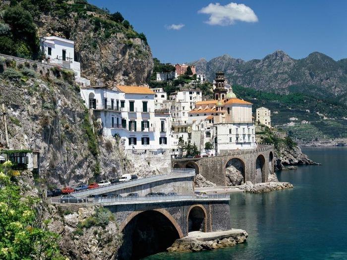 Пейзажи Италии можно рассматривать тысячи раз.
