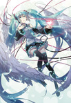 Превью moe 186344 hatsune_miku headphones rella vocaloid wings (483x700, 148Kb)