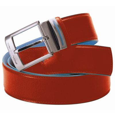 Ремень PIQUADRO Blue Square CU1523B2 оранжевый.