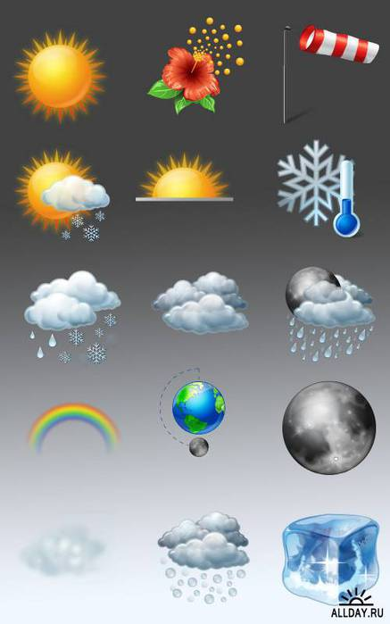 На этой странице можно скачать Icons Land Vista Weather Icons совершенно...
