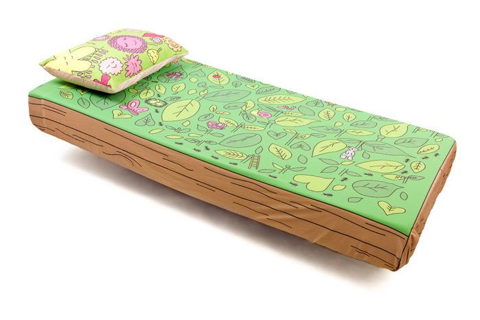 Подобные оригинальные комплекты постельного белья для кровати не оставят...