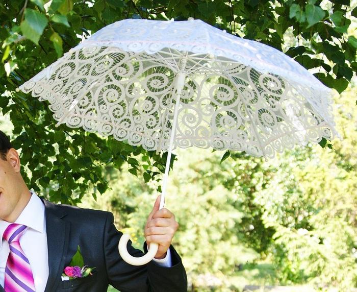 поздравление про деньги с зонтом