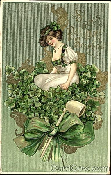 Открытки в ирландском стиле, открытка хорошего настроения