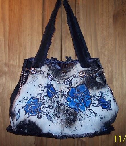 Джинсовые сумки - это прекрасное дополнение к гардеробу, так как у каждой из нас есть джинсовая одежда...