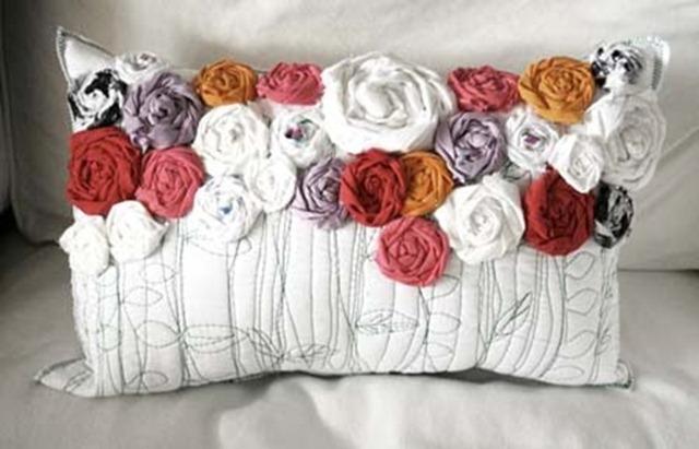 Как сшить подушку цветок своими руками выкройки - Выкройка