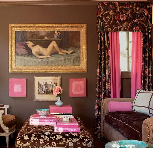 Если вы добавляете...  Розовый цвет прекрасно сочетается со светлыми...