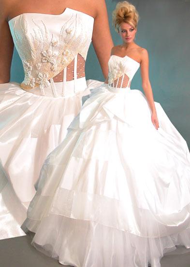 Фотографии свадебное платье от О.Мухи.