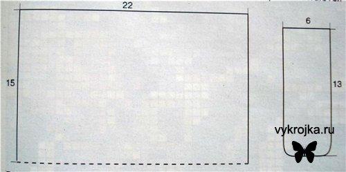 44775 байтДобавлено.  Выкройка косметички фото Вязание Для.