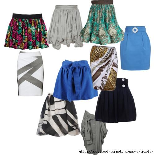 Авторский комментарий: Модные женские юбки, нарядные и.