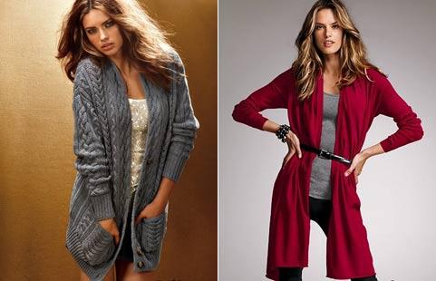 СТИЛЬНАЯ МОДНАЯ женская одежда.  Модные вязанные кардиганы Интернет-магазин белья и одежды.