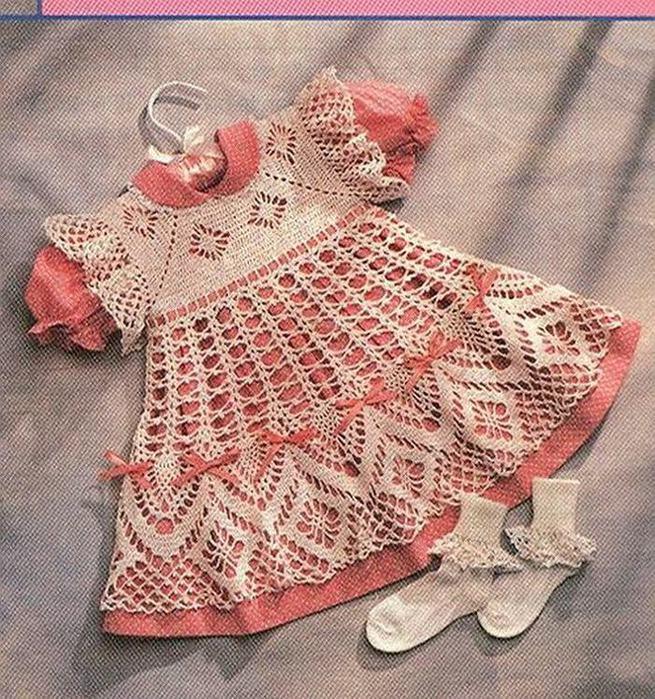 Крестильное платье крючком схема, вязаная мужская кофта с орнаментом и...