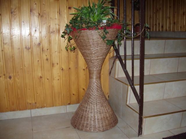 Большая напольная ваза своими руками фото