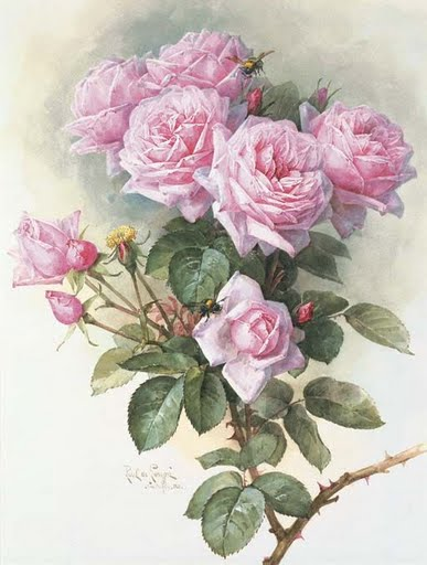 Paul_de_Longpr%C3%A9_-_Roses_and_Bumblebees_1899 (387x512, 36Kb)