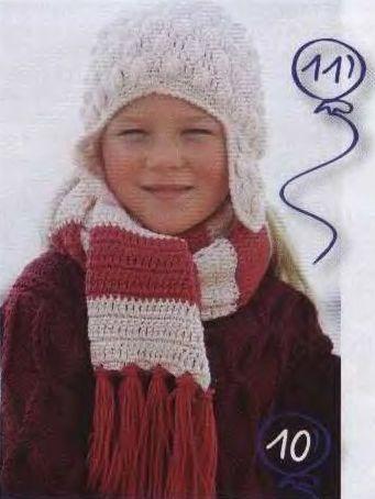крючком для начинающих, видео вязание, видео вязание крючком ... шарфы и...