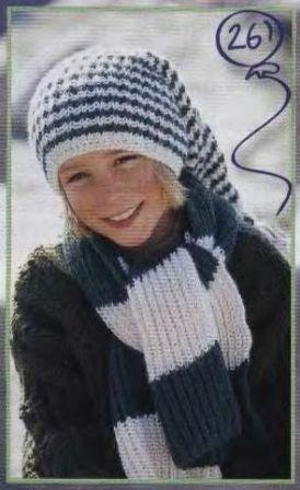 Вязаная шапочка со снежинками.  Вязаная шапка с именем.  Комментарии (27)
