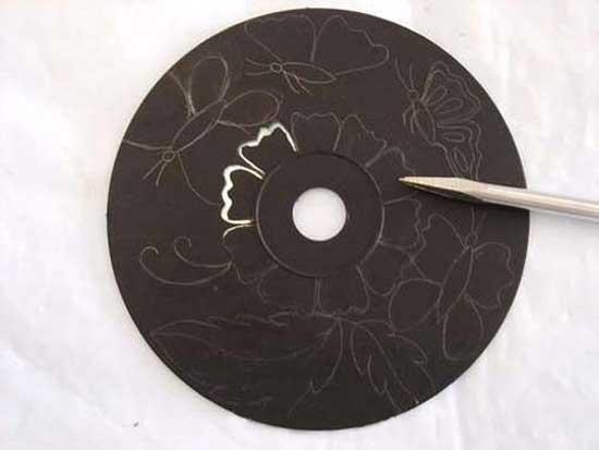 Украшение стен из СД-дисков! Блог Виталия Слюсара