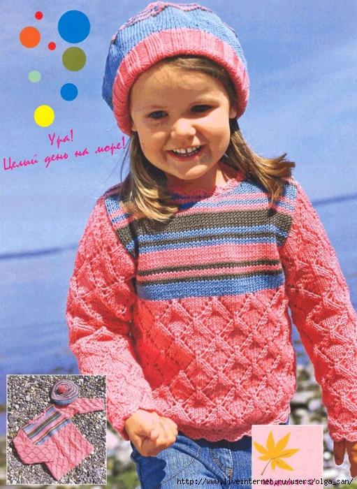 Фотография из категории Вязание спицы журналы модели и Схемы рисунки для...