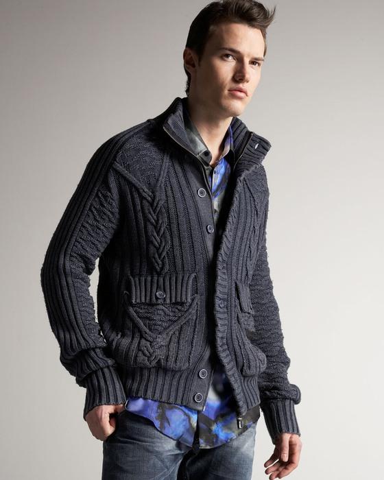 Зимние вязаные мужские кофты с. Вязание спицами ажурные летние.