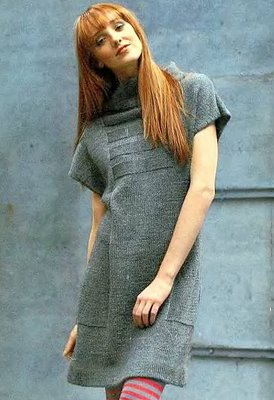 для женщин. спицами.  Метки. вязание. платье.