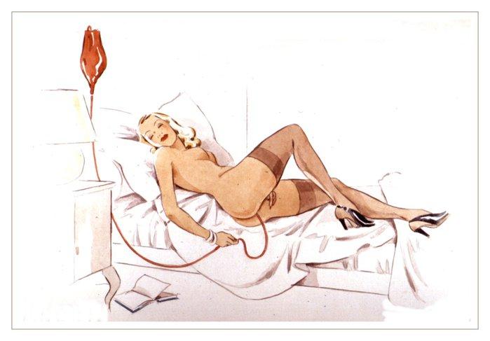 Фото секс с клизмой рисунки — 13